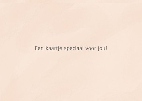 Lief kaartje you are awesome 3