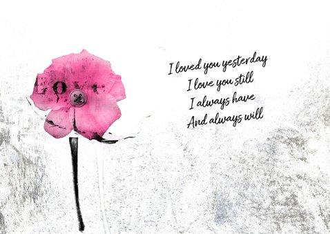Liefde kaart love always 3