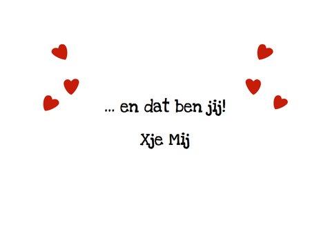 Liefde Valentijn Eendje voor mij 3