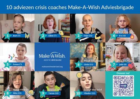 Make-A-Wish 10 adviezen Adviesbrigade crisis coaches 2