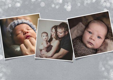 Moderne Fotokarte zum ersten Vatertag 2