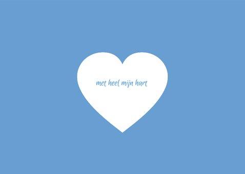 Moederdag bloesem hart 3