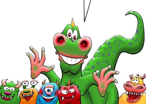 Monsterleuke verjaardagsfeestje voor kind 3
