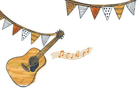 Muzikale verjaardagskaart 2