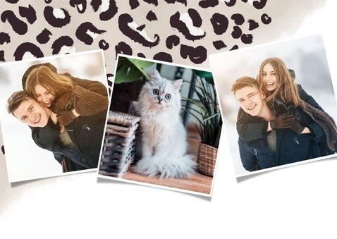 Neujahrskarte Foto & Pantherprint 2