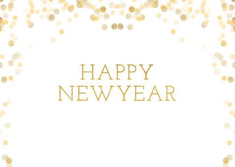 Neujahrskarte schwarz-weiß Fotocollage Happy New Year 2