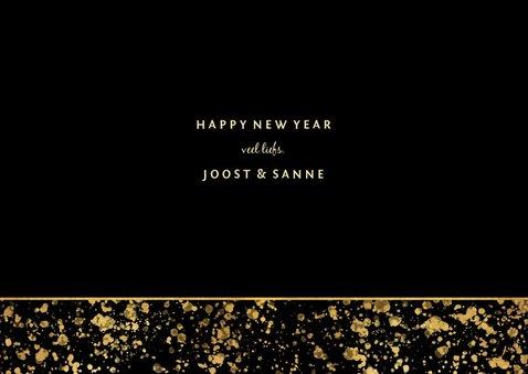 Nieuwjaarskaart 2019 fotocollage spetters 3