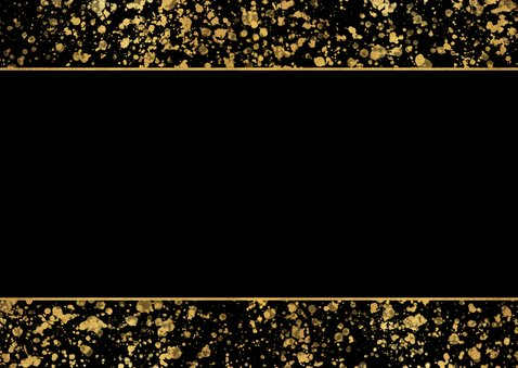 Nieuwjaarskaart 2021 fotocollage spetters Achterkant
