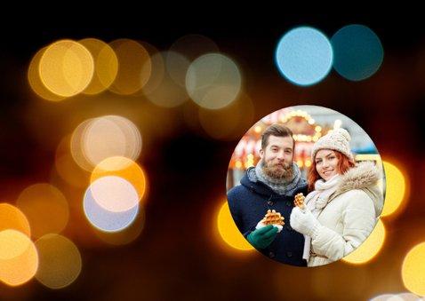 Nieuwjaarskaart ballonnen goud 2