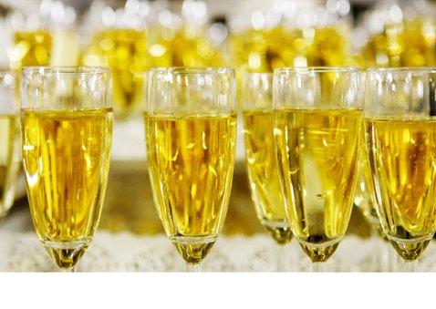 Nieuwjaarskaart Champagne Cheers to 2020 2