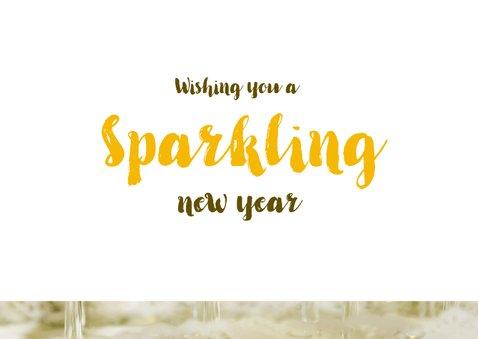 Nieuwjaarskaart Champagne Cheers to 2020 3