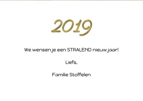 Nieuwjaarskaart collage feestdagen 2019 3