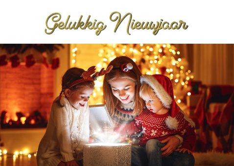 Nieuwjaarskaart collage feestdagen 2