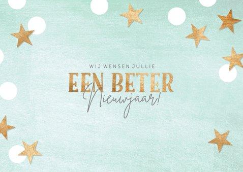 Nieuwjaarskaart 'een beter nieuwjaar' 2