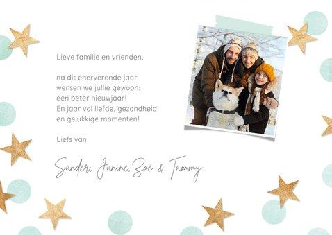 Nieuwjaarskaart 'een beter nieuwjaar' 3