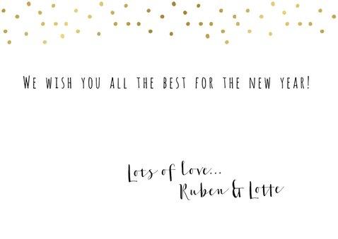 """Nieuwjaarskaart """"Enjoy little things"""" 3"""