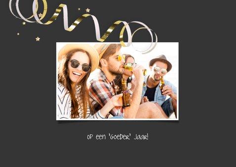 Nieuwjaarskaart fout jaar foute tape 2