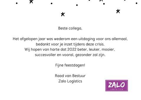 Nieuwjaarskaart hallo 2022 hopelijk ben je leuker... 3
