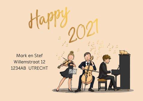 Nieuwjaarskaart orkest  3