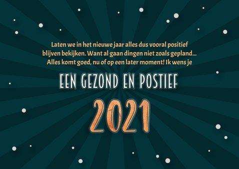 Nieuwjaarskaart positief nieuws 2020 - 2021 3