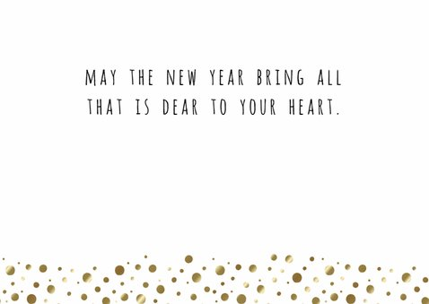Nieuwjaarskaart Sparkle, met foto - WW 3