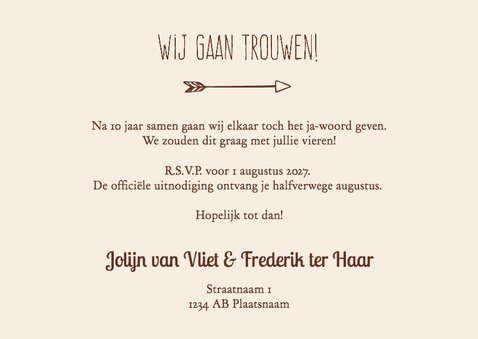Save the Date grote foto - DH 3