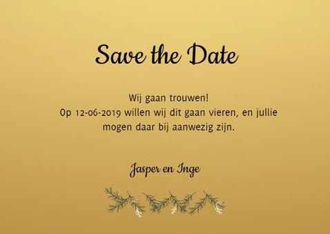 Save the Date kerstkaart - HM 3