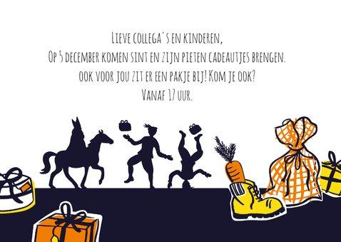 Sinterklaas uitnodiging pakjesavond 3