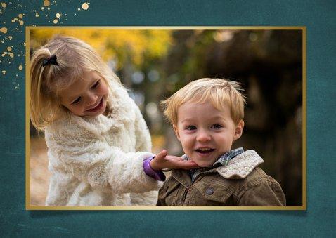 Stijlvolle fotocollage paaskaart met ruimte voor3 foto's 2