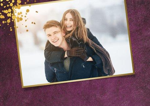 Stijlvolle uitnodiging voor jouw kerstborrel 2