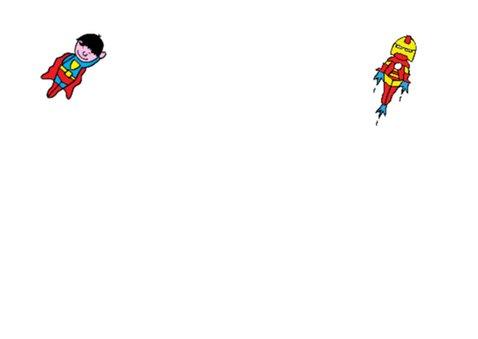 superhelden verjaardag kaart 2