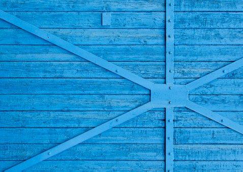 Uitnodiging blauw hout kind - OT 2