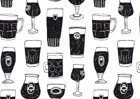 Uitnodiging feestje met biertjes 2