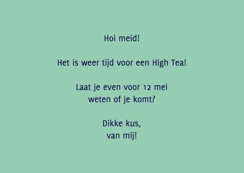 Uitnodiging high tea retro 3