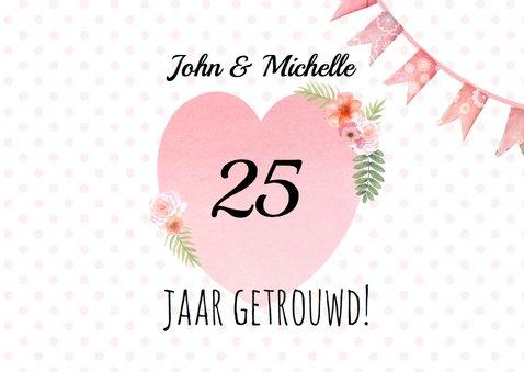 Uitnodiging jubileum hart label 2
