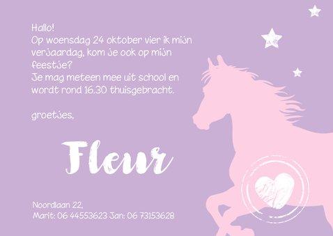 Uitnodiging met lief paardje 3