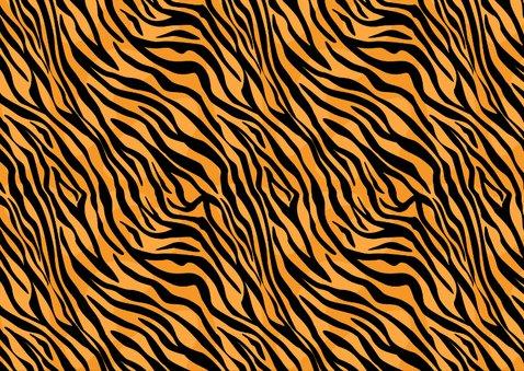 Uitnodiging met pensioen tijgerprint 2