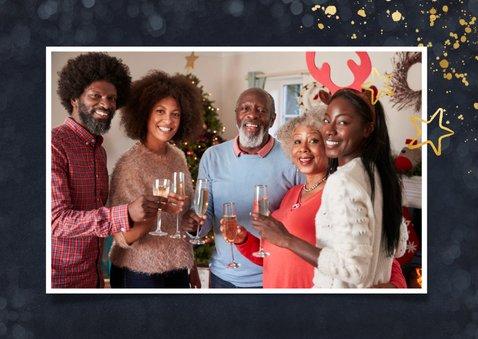 Uitnodiging online kerstborrel met familie of vrienden 2