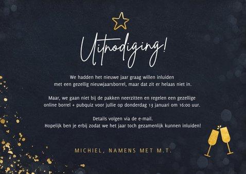 Uitnodiging online nieuwjaarsborrel voor personeel  3