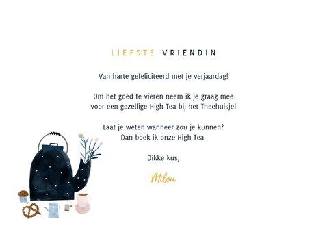 Uitnodiging Tegoedbon High Tea illustraties en foto's 3