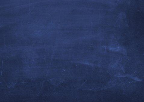 Umzugskarte dunkelblaue Kreidetafel 2