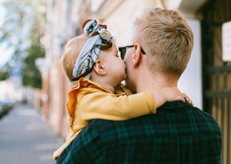 Vaderdag fotocollage kaart met 10 eigen foto's en tekst 2