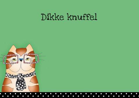 Vaderdag Kat met stropdas - SK 3