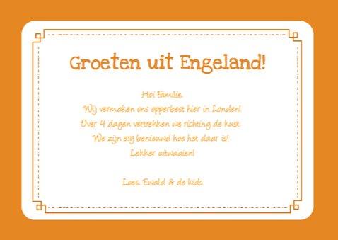 Vakantie Landkaart UK 3