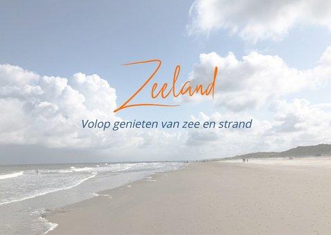 Vakantie met een zee van ruimte in Zeeland 2