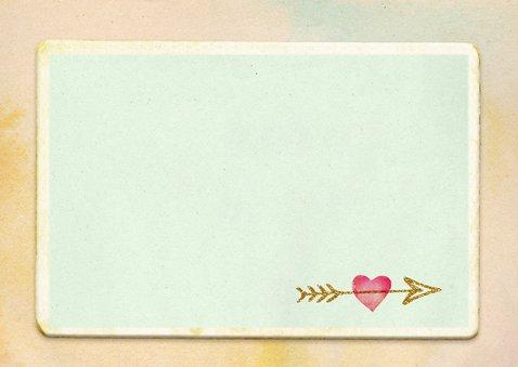 Valentijn hartjes pijlen 3