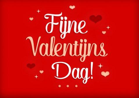 Valentijn rood foto hartjes 2