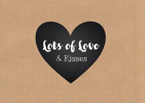 Valentijnskaart collage liefde 2