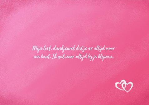 Valentijnskaart 'lief' met aanpasbare tekst 3