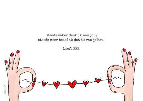 Valentijnskaart met camera we just click 3